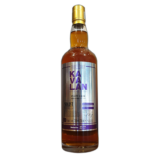 Kavalan Solist Peaty Cask Holiday Exclusive