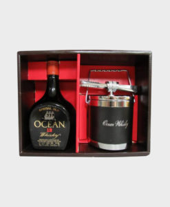 Karuizawa Ocean 12 Year Old and Ice Bucket Gift Set