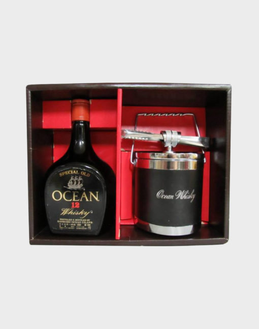 Karuizawa Ocean 12 Year Old and Ice Bucket Gift Set
