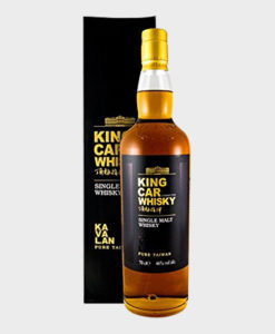 Kavalan King Car Conductor Single Malt Whisky - dekantā