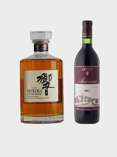 Hibiki 17 + Tokachi-Ikeda Amurensis 2014