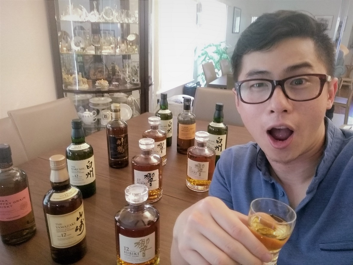 Japanese Whisky Toast from Randy in California