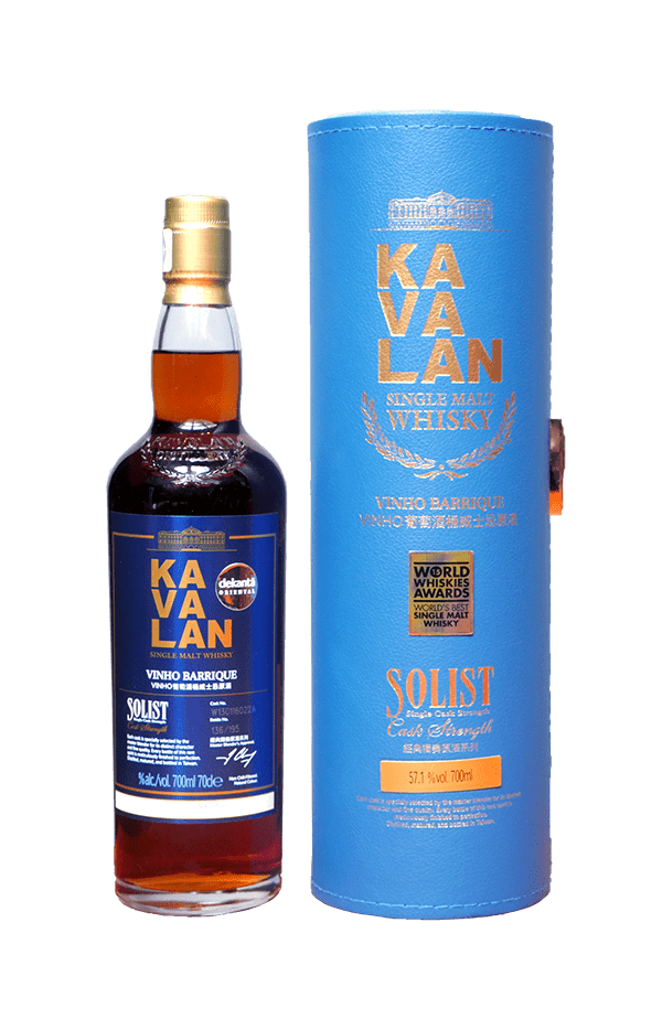 'One' Kavalan Solist Vinho Barrique Single Cask