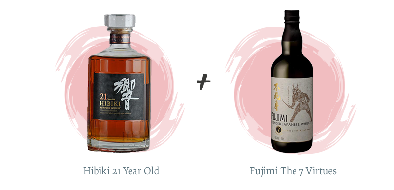Hibiki 21 Year Old + Fujimi The 7 Virtues