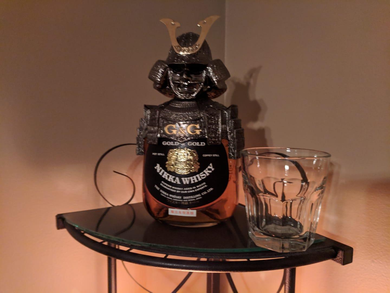 Photo of Nikka G&G Commander Japanese Whisky Bottle