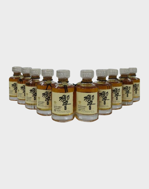 Suntory Hibiki 17 Year Old Miniature Set (10 bottles)