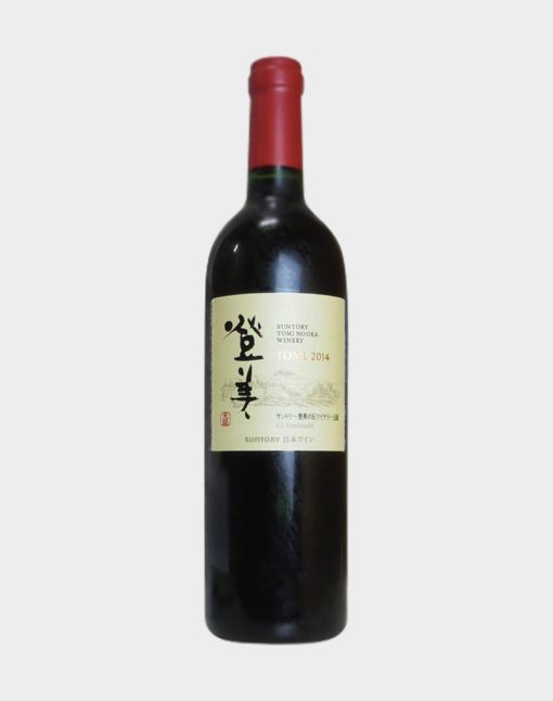 Suntory Tomi No Oka Winery Tomi Red 2014