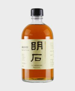 Akashi Single Malt Whisky 3 Years Old Japanese Label