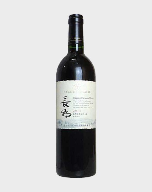 Grande Polaire Nagano Furusato Vineyard Merlot 2015