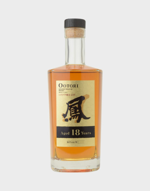 Ootori Japanese Blended Whisky 18 Years Old