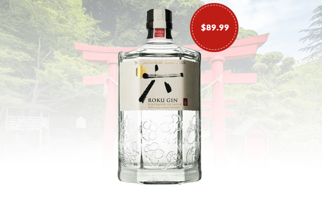 """ROKU"" JAPANESE GIN"