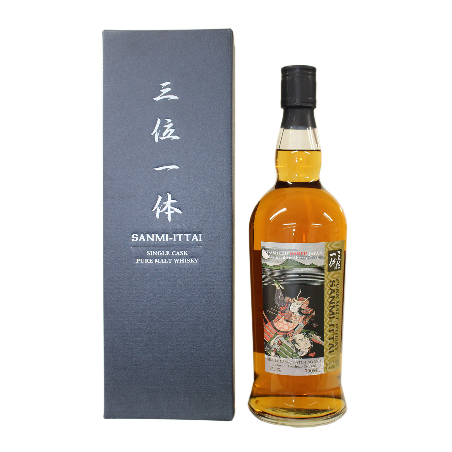 The Trinitas Japanese Whisky Legendary Warrior