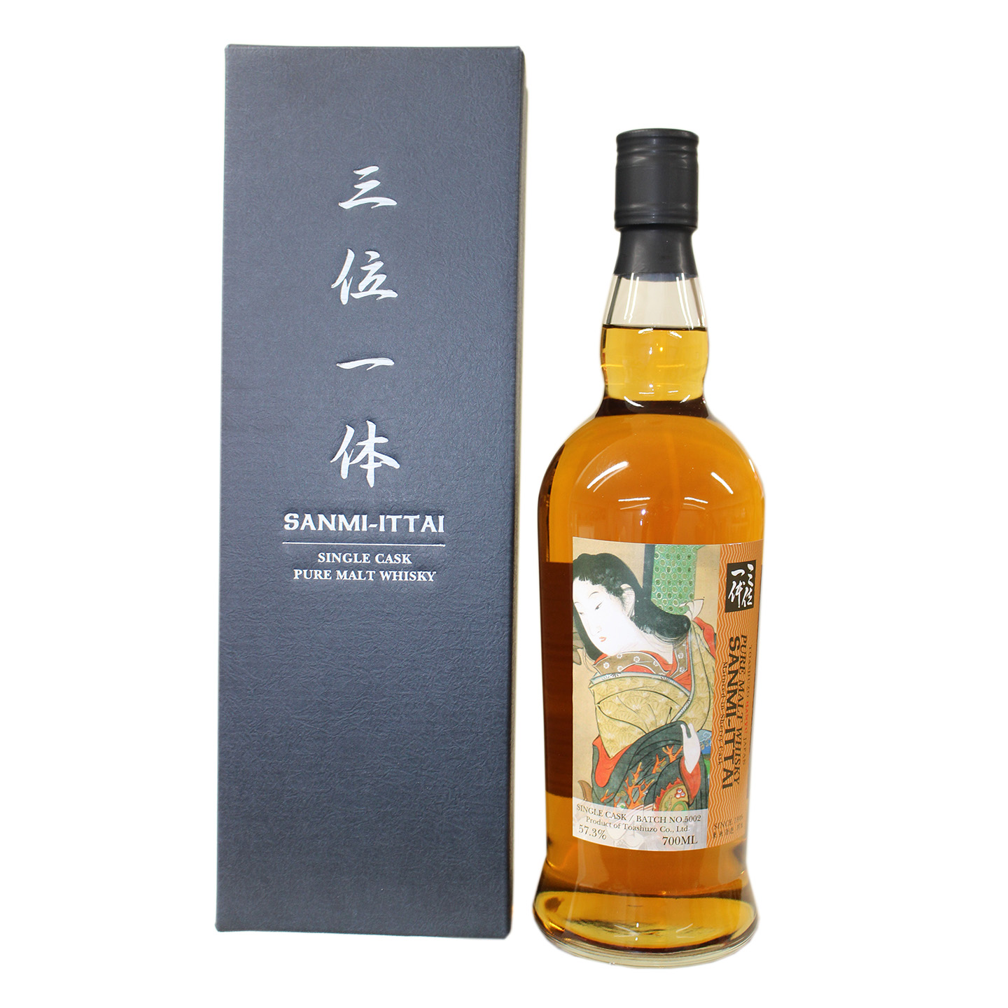 The Trinitas Japanese Whisky Silent Geisha