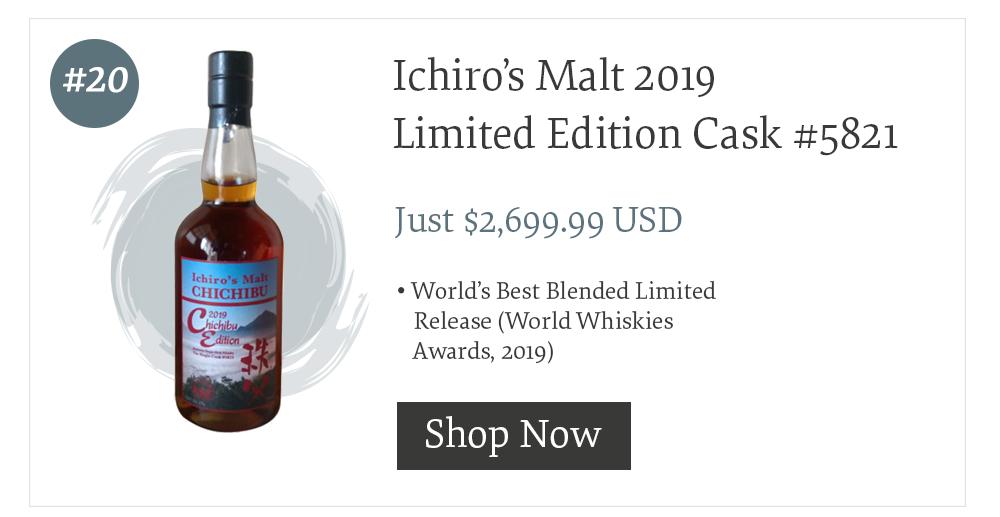 #20 Ichiro's Malt 2019 Limited Edition Cask #5821