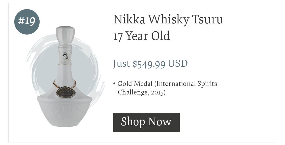 #19 Nikka Whisky Taketsuru 17 Year Old
