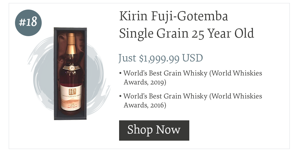 #18 Kirin Fuji-Gotemba Single Grain 25 Year Old