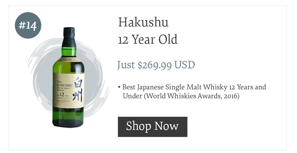 #14 Hakushu 12 Year Old