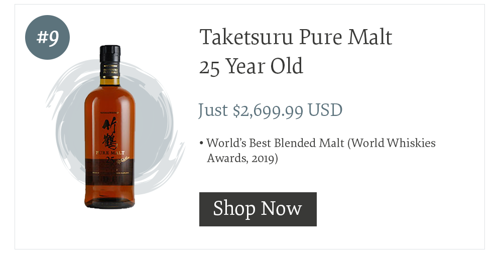 #9 Taketsuru Pure Malt 25 Year Old