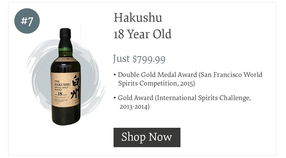 #7 Hakushu 18 Year Old
