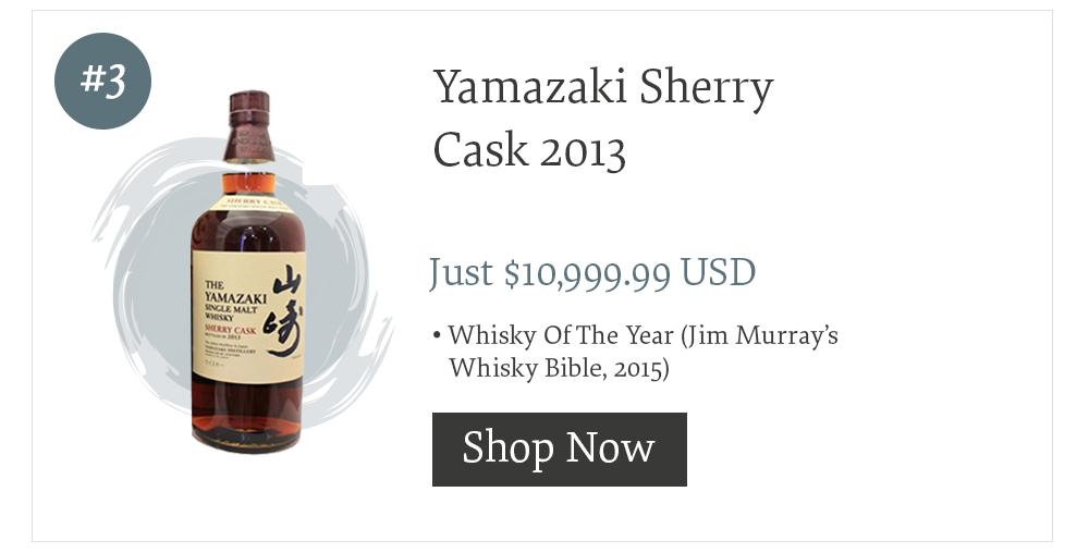 #3 Yamazaki Sherry Cask 2013