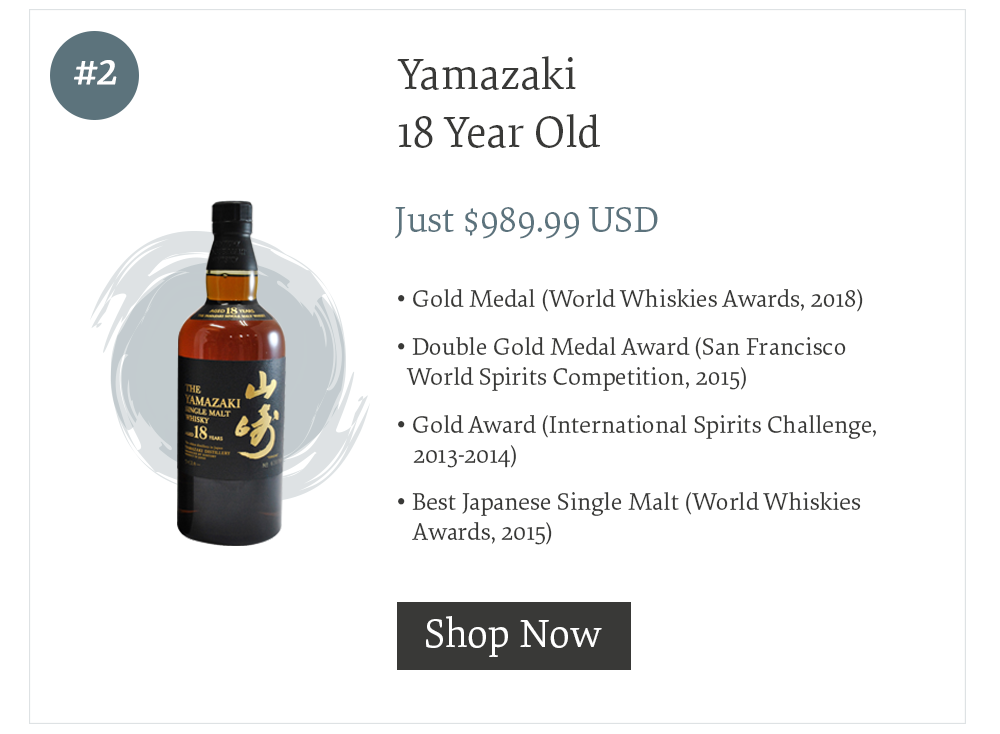 #2 Yamazaki 18 Year Old
