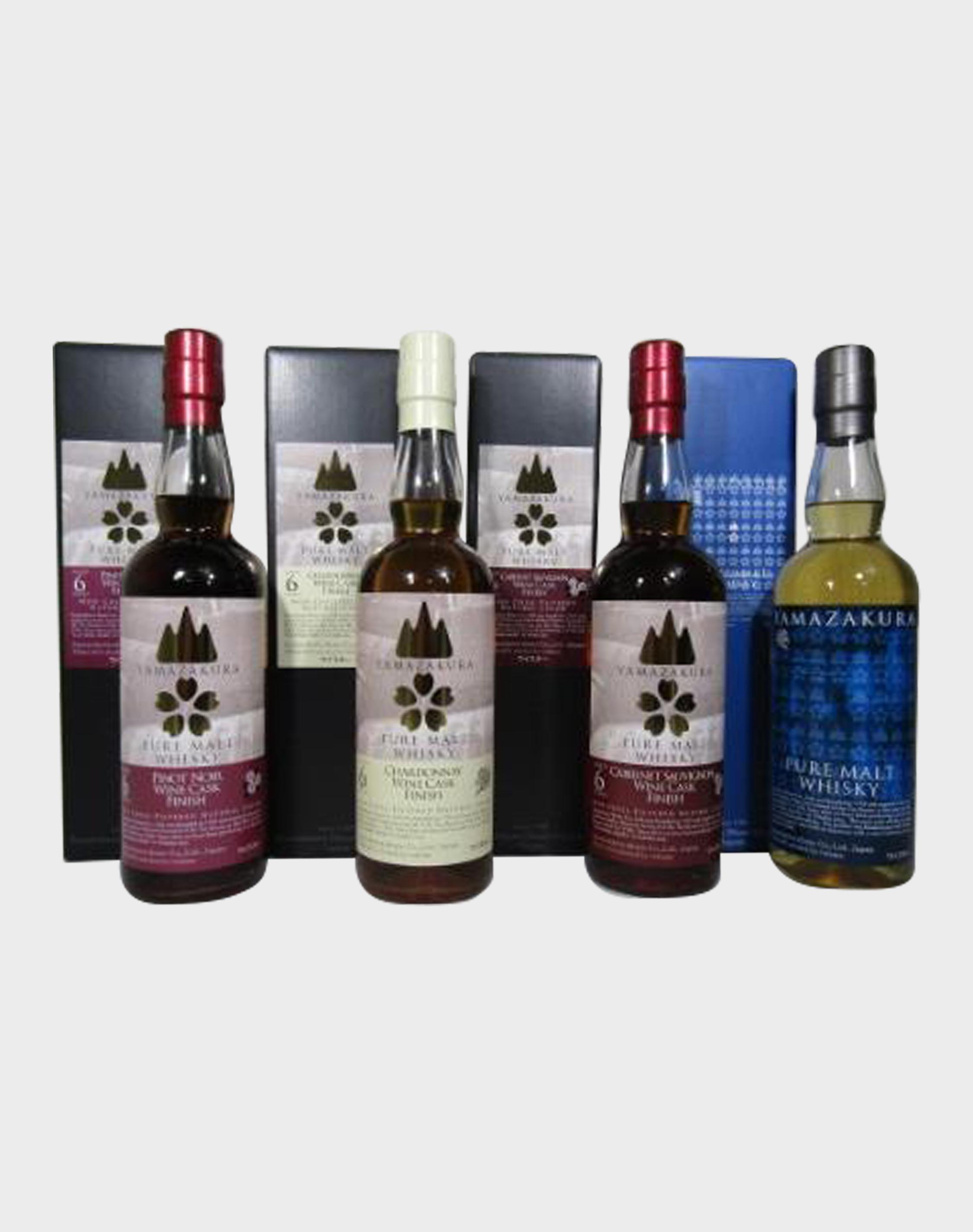 Yamazakura Pure Malt Whisky Set