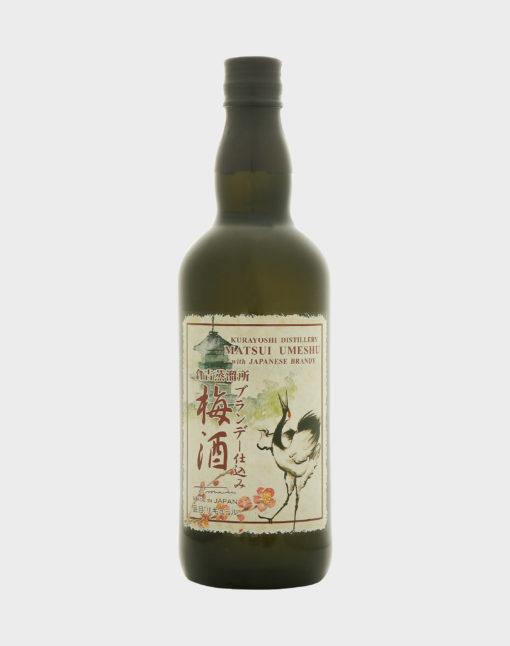Matsui Umeshu with Japanese Brandy