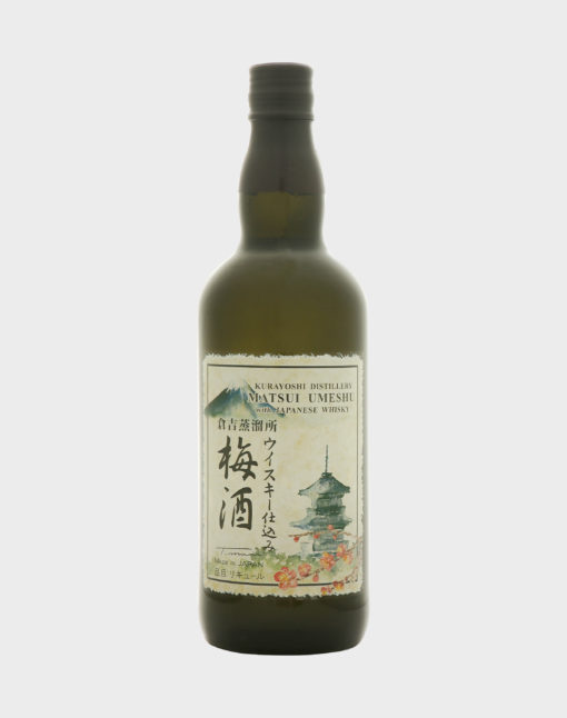 Matsui Umeshu with Japanese Whisky