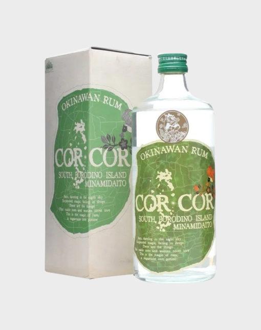 Okinawan Rum Cor Cor Green Label
