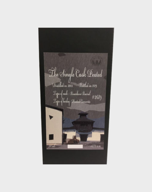 Ichiro's Malt - Chichibu Single Cask Peated 2019 #2689 (2)
