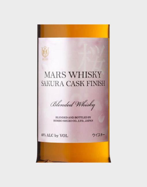 Mars Whisky Sakura Cask Finish
