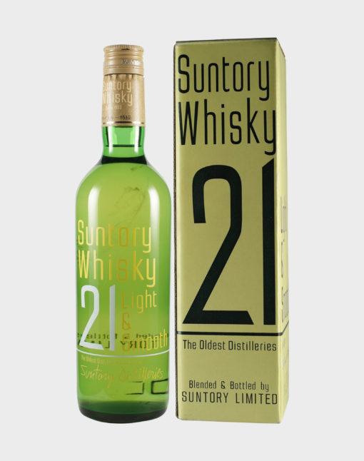 Suntory Whisky 21 Light & Smooth