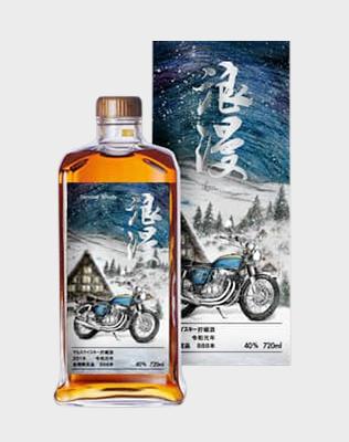 """Mars Japanese Whisky """"Biker Journey"""