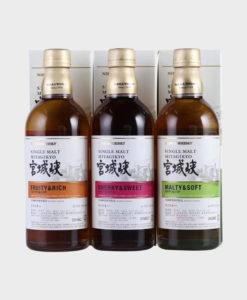 Nikka Miyagikyo Single Malt 3 Bottle Set