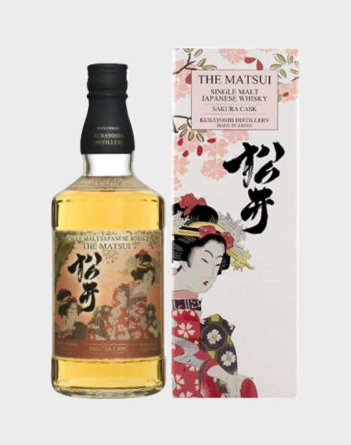 The Matsui 'Sakura Cask' Single Malt