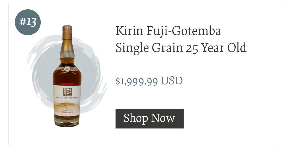 Kirin Fuji-Gotemba Single Grain 25 Year Old