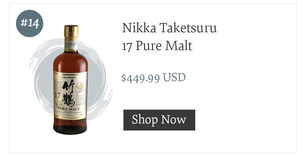 Nikka Taketsuru 17 Pure Malt