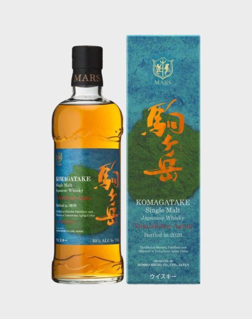 Komagatake Yakushima Aging Bottled in 2020