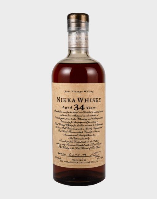 Nikka Whisky aged 34 years